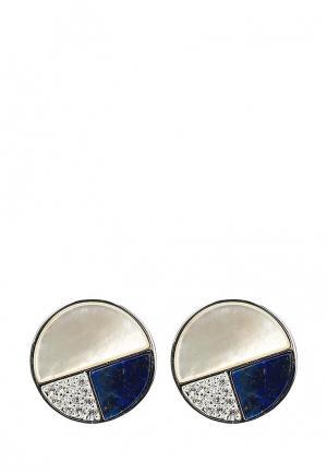 Серьги Fiore Luna. Цвет: синий