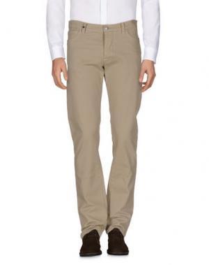 Повседневные брюки HISTORIC RESEARCH. Цвет: бежевый