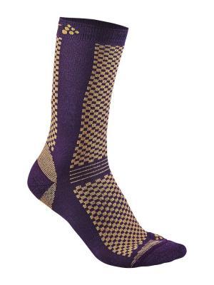 Носки Craft. Цвет: фиолетовый
