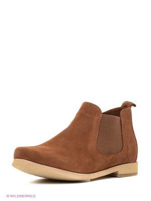 Ботинки ЭГО. Цвет: коричневый