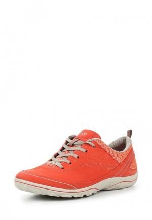 Кроссовки Ecco. Цвет: оранжевый