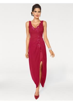 Вечернее платье ASHLEY BROOKE by Heine. Цвет: красный
