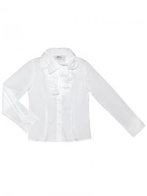 Блузка BORELLI. Цвет: белый