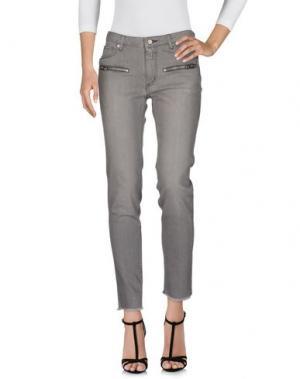 Джинсовые брюки ZADIG & VOLTAIRE. Цвет: серый