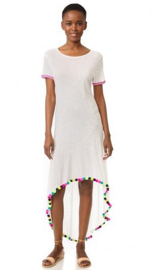 Платье Vanessa Pitusa. Цвет: белый
