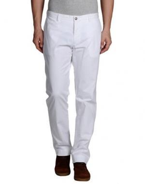 Повседневные брюки ALTEA. Цвет: белый
