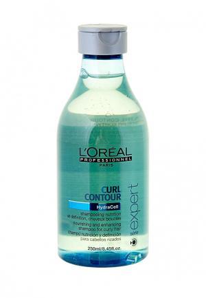 Шампунь для вьющихся волос LOreal Professional L'Oreal. Цвет: белый