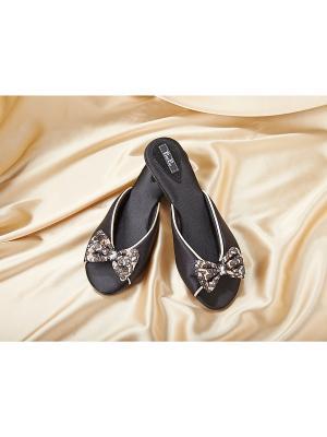 Домашняя обувь Petit Pas. Цвет: черный