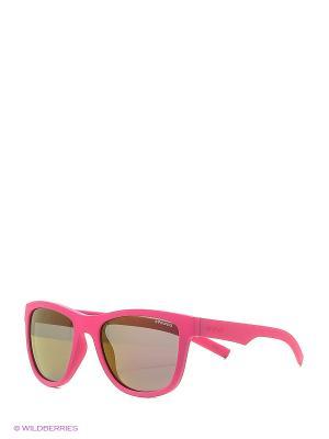 Солнцезащитные очки Polaroid. Цвет: розовый, черный