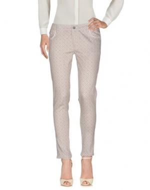 Повседневные брюки CAFèNOIR. Цвет: голубиный серый