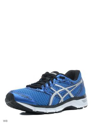 Спортивная обувь GEL-EXCITE 4 ASICS. Цвет: голубой, серебристый, черный