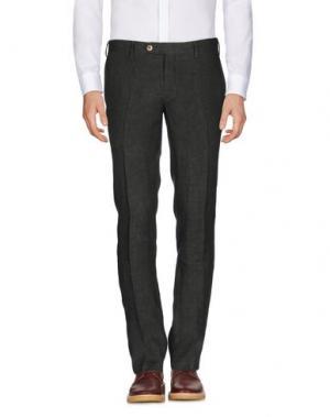Повседневные брюки GERMANO. Цвет: темно-зеленый