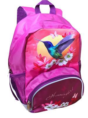 Рюкзак Fantasy bag Колибри Limpopo. Цвет: розовый, белый