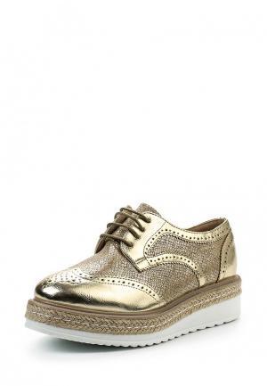 Ботинки Tony-p. Цвет: золотой