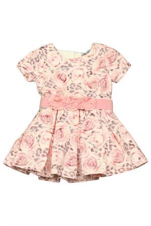 Платье STEFANIA. Цвет: розовый