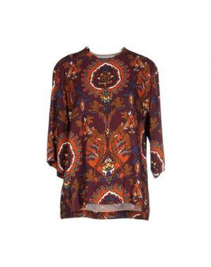 Блузка AQUILANO-RIMONDI. Цвет: фиолетовый