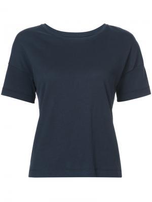 Классическая футболка Organic By John Patrick. Цвет: синий
