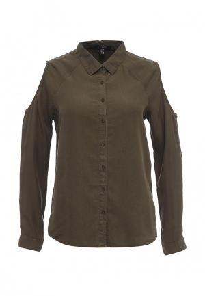 Блуза Jennyfer. Цвет: хаки