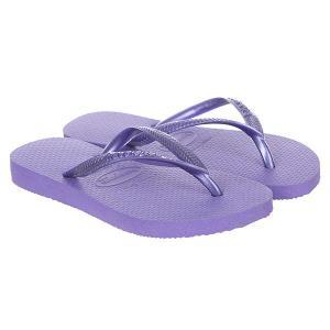 Вьетнамки детские  Slim Purple Havaianas. Цвет: фиолетовый