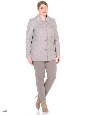 Утепленная куртка MONTSERRAT. Цвет: светло-серый