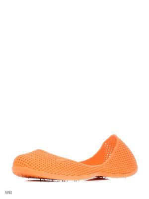 Туфли купальные из поливинилхлоридной комп. Женские. BRIS. Цвет: оранжевый