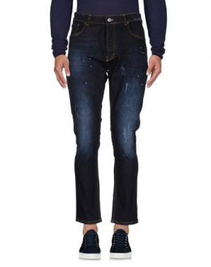 Джинсовые брюки IMB I'M BRIAN. Цвет: синий