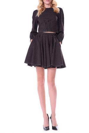 Юбка-шорты Isabel Garcia. Цвет: коричневый