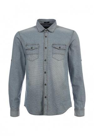 Рубашка джинсовая Mavi. Цвет: голубой