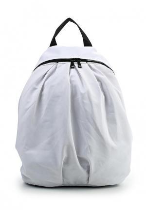 Рюкзак Sisley. Цвет: белый