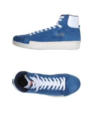 Высокие кеды и кроссовки PANTOFOLA D'ORO. Цвет: пастельно-синий
