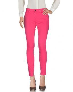 Повседневные брюки SFIZIO. Цвет: фуксия