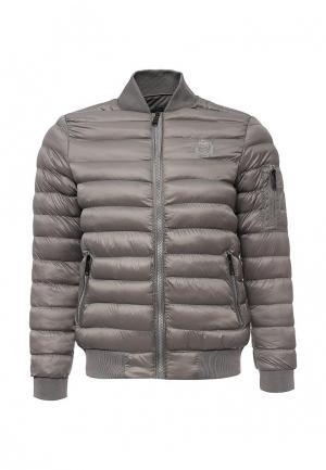Куртка утепленная Biaggio. Цвет: серый