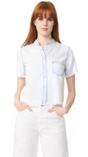 Рубашка Montauk DL1961. Цвет: голубой