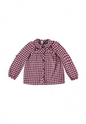 Рубашка LC Waikiki. Цвет: бордовый