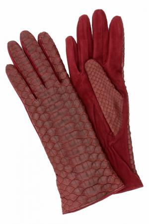 Перчатки Eleganzza. Цвет: винный