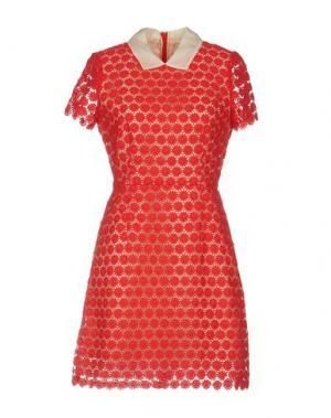 Короткое платье PAUL & JOE SISTER. Цвет: красный
