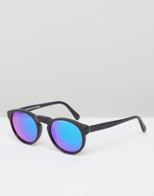 Retrosuperfuture Солнцезащитные очки Paloma Cove. Цвет: черный