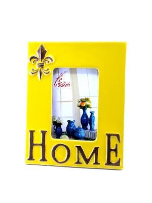 Рамка для фото HOME essentic. Цвет: желтый