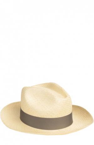 Шляпа пляжная Artesano. Цвет: серый