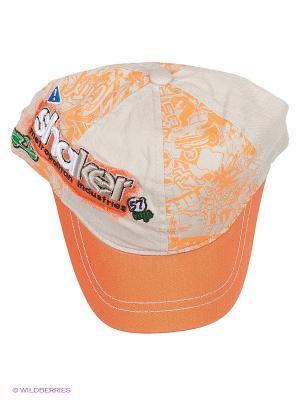 Бейсболка Maxval. Цвет: оранжевый, персиковый, терракотовый