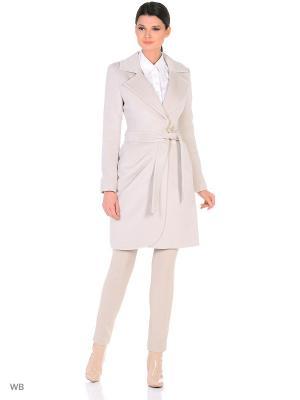 Пальто Lea Vinci. Цвет: светло-серый