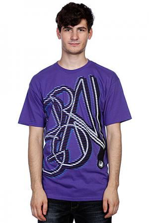 Футболка  Exploited Sf Tee F10 Purple Dragon. Цвет: фиолетовый