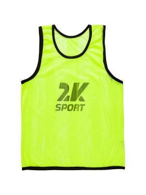 Майка спортивная 2K. Цвет: салатовый