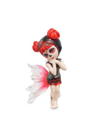 Статуэтка Балерина Veronese. Цвет: белый, красный, черный