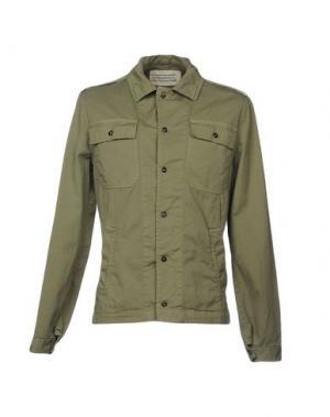 Куртка ..,BEAUCOUP. Цвет: зеленый-милитари