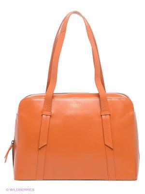 Сумка Radley. Цвет: оранжевый