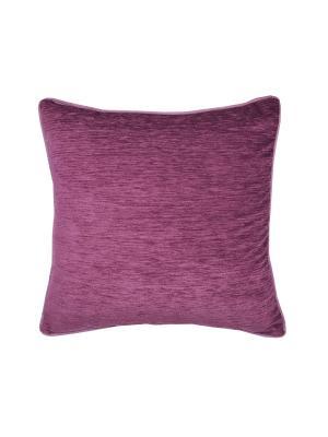 Подушка Ласковый вечер T&I. Цвет: темно-фиолетовый
