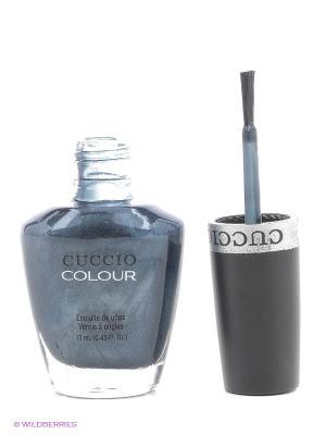 Лак Cuccio Colour, Oh my Prague, 1 COLOUR. Цвет: темно-серый