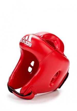 Шлем боксерский adidas Combat. Цвет: красный