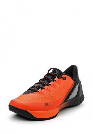 Кроссовки Under Armour. Цвет: оранжевый
